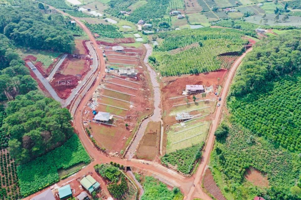 Cập Nhật Tiến Độ  Dự Án Kiwuki Village Bảo Lộc ngày 16/9/2020